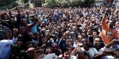 احتجاجات فى إثيوبيا وهتافات ضد آبى أحمد