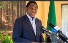 زامبيا تعلن تنصيب الرئيس المنتخب هيشيليما 24 اغسطس