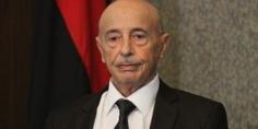 """من المغرب.. عقيلة صالح يحدد مهام المراحل الثلاث لـ""""السلطة المؤقتة"""""""