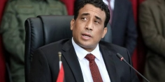 """""""المنفي"""" يدعو إيطاليا لعدم التدخل ويطالب المنقوش إلغاء مؤتمر المصالحة الليبية"""