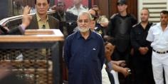 """المؤبد لـ""""مرشد الإخوان"""" والشاطر والكتاتني والعريان في قضية التخابر مع حماس"""