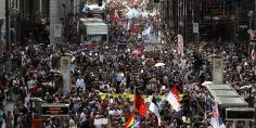 تظاهرات في ألمانيا للمطالبة باستقبال لاجئين من اليونان