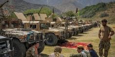 """""""طالبان"""": لا نسمح بتواجد أي مسلح أجنبي أو قاعدة عسكرية في البلاد"""