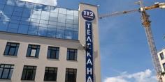 قصف مبنى قناة تليفزيونية أوكرانية بالقنابل