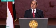 """مجددا.. """"السيسي"""": الأمن القومي المصري خط أحمر ولن نسمح لأي من كان المساس به"""