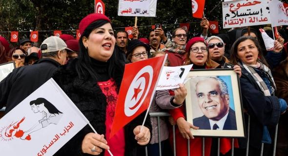 الحزب الدستوري الحر يتصدر استطلاعات الرأي الخاصة بالانتخابات التشريعية التونيسية