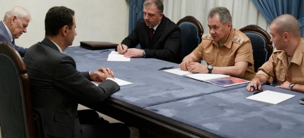 الرئيس الأسد يستقبل وزير الدفاع الروسي والوفد المرافق لهوزارة الدفاع الروسية