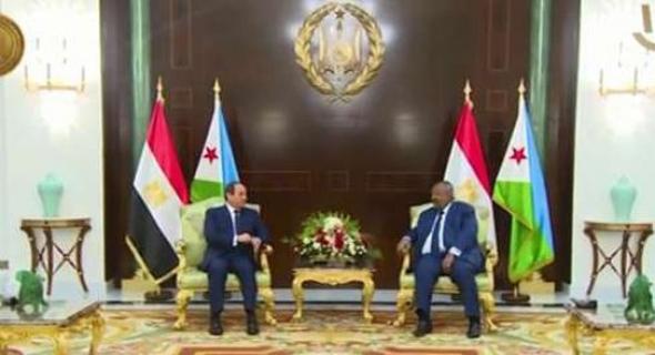 اليوم.. قمة تاريخية بين مصر وجيبوتي