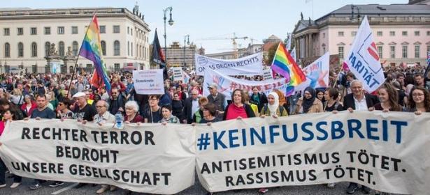 مسلمو ألمانيا يشعرون بخطر اليمين المتطرف ويتضامنون مع اليهود