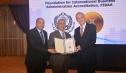 """""""الأكاديمية البحرية"""" تحتفل باعتماد """"FIBAA"""" الألمانية لـ""""كلية النقل الدولى و اللوجستيات"""""""