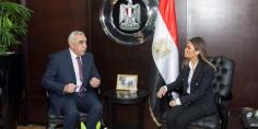بحث ترتيبات عقد اللجنة العليا المشتركة بين مصر والعراق