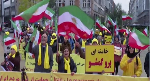 """أنصار المقاومة الإيرانية في بلجيكا يتجمعون غدا  في """"بروكسل"""" لدعم العملية التي أدت للقضاء على قاسم سليماني"""