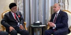 العراق وعمان يُؤكّدان أهمّية انعقاد اجتماعات الدورة التاسعة للجنة المُشترَكة في الربع الأول من 2020