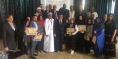 وزير الإعلام يستقبل وفدا متخصصا في الإعلام السياحي من ٩ دول عربية