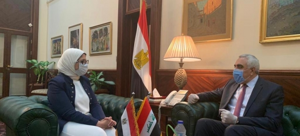 """مصر مستعدة لتجهيز العراق بالمعدات الطبية اللازمة لمواجهة""""كورونا"""" خلال ٧٢ ساعة"""