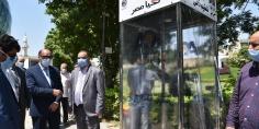 الهيئة العربية للتصنيع تسلم مستشفي 57357 كبائن تعقيم وسيارات مجهزة لنقل الأغذية والأدوية  وفقا لمعايير الجودة العالمية