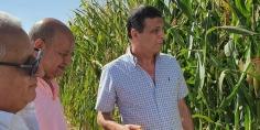 رئيس البنك الزراعي المصري يبحث سبل تمويل المشروعات الزراعية الكبرى في توشكى