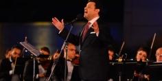 هاني شاكر يتألق في مهرجان الموسيقى العربية ال29 على مسرح النافورة بالأوبرا