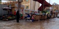 المطر يعرقل عملية التصويت في بيلا في اليوم الأول لانتخابات مجلس النواب