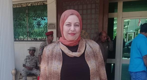 د. عفاف عاشور مديرا لمنطقة أملاك كفر الشيخ
