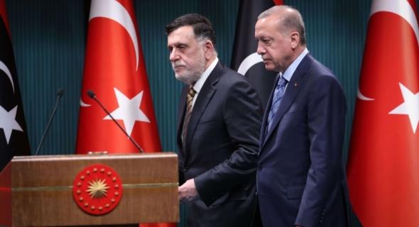 """""""الجنائية الدولية"""" تقبل دعوى """"جرائم حرب"""" في ليبيا ضد """"أردوغان"""" و""""السراج"""""""