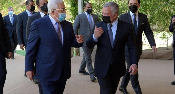 جهود أردنية فلسطينية لتحقيق حل الدولتين