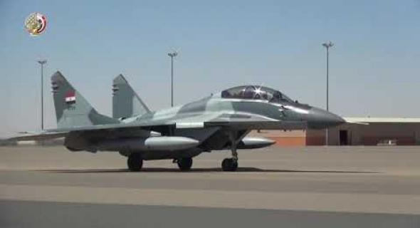 القوات المسلحة المصرية والسودانية تنفذان التدريب الجوى المشترك نسور النيل – 1