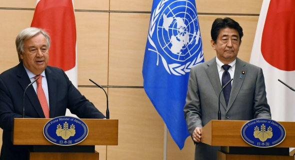 الأمم المتحدة تقف تضامنا مع اليابان بعد الهجوم العمد المميت على استوديو الصور المتحركة الرائد في كيوتو