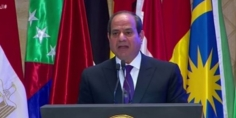 السيسي: مصر تتحمل تسديد المساهمات السنوية للدول الأقل نموا في منظمة التعاون الإسلامي