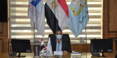 رئيس جامعة كفر الشيخ يوجه بترشيد الإنفاق العام وخطط للأنشطة الطلابية