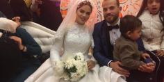 """عائلات """"شلبي"""" و""""هريدي"""" يحتفلون بزفاف أحمد عمر وآية عبد الرحيم"""