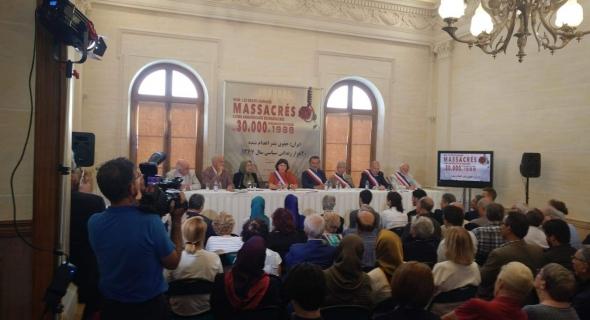 مؤتمر ومعرض وثائقي عن إعدام ٣٠ ألف سجين إيراني عام ١٩٨٨