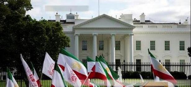 """إيرانيون يتظاهرون أمام البيت الأبيض تزامنا مع خطاب """"ترامب"""" أمام """"الأمم المتحدة"""" لدعم العقوبات على نظام الملالي"""