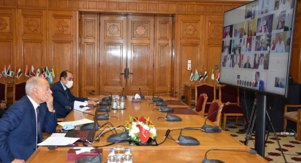 وزراء الخارجية العرب يؤكدون رفضهم للتدخلات الخارجية في ليبيا.. وضرورة منع انتقال المقاتلين الأجانب للبلاد